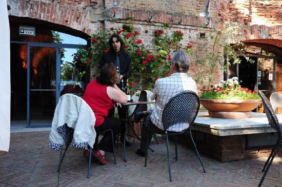 Enoteca Italiana : Terrazza