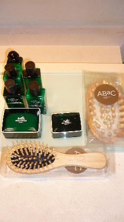 ABaC Barcelona: Set de baño de Hermes