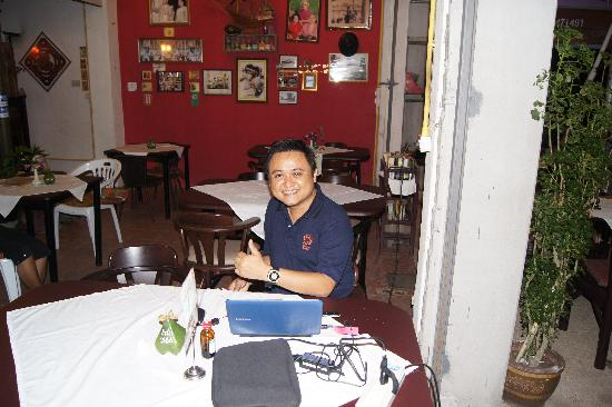 Octopus Restaurant: The owner of The Octopus