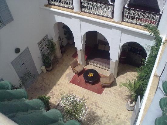 Riad Tizwa: View from the balcony.