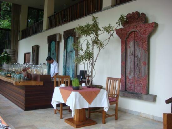 Komaneka at Bisma : restaurant