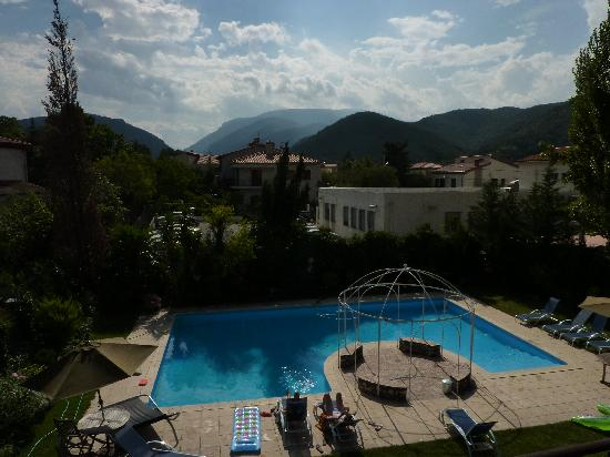 Villa Lafabregue: Mountain view from our balcony