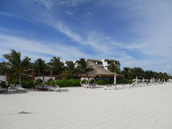 El Dorado Maroma, by Karisma: beach and resort