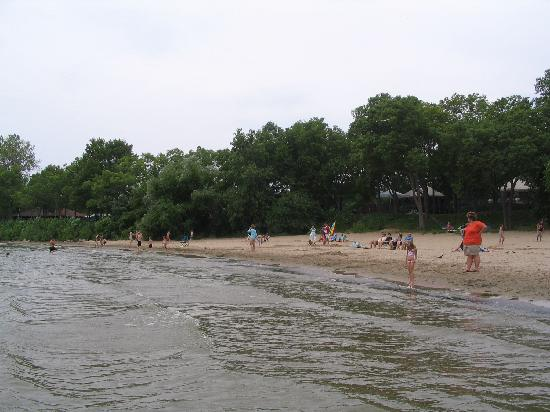 Kelleys Island, OH: State Park Beach