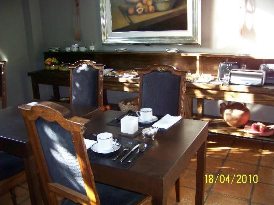 Legado Mitico Salta : Frühstücksraum