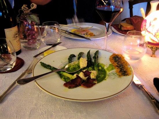 Restaurant Le Bistro de la Tour : My Aspagagus Veloute