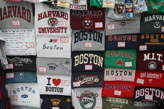 Boston, MA: lots of choice......