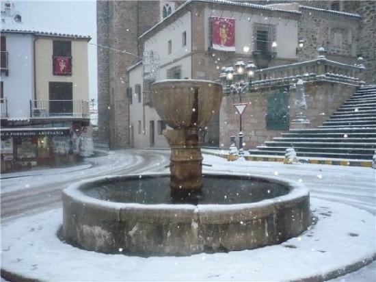 Real Monasterio De Santa María De Guadalupe: Fuente  de la Plaza
