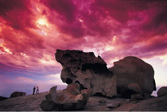 Νήσος Καγκουρό, Αυστραλία: Remarkable Rocks, Flinders Chase National Park, Kangaroo Island