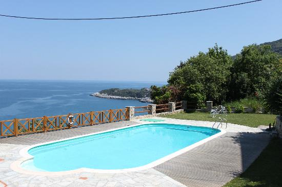 Agapitos Villas & Guesthouses: View from the pool