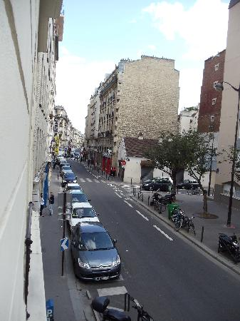 Le Fabe Hotel : Sight from the window.
