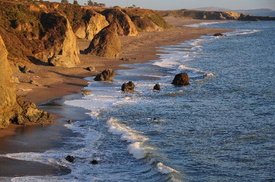 Bodega Bay, Kalifornia: One of the 13 Sonoma Coast State Beaches along picturesque Highway 1.