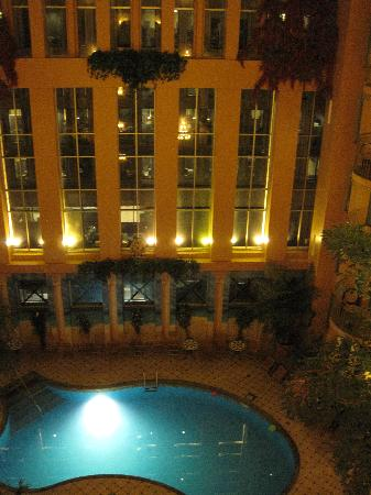 Swimming Pool With Facing Balconies Picture Of Hotel Palace Royal Quebec City Tripadvisor