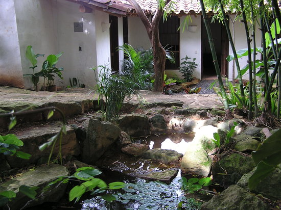 Achiotte Hotel Boutique: Nacimiento natural de agua