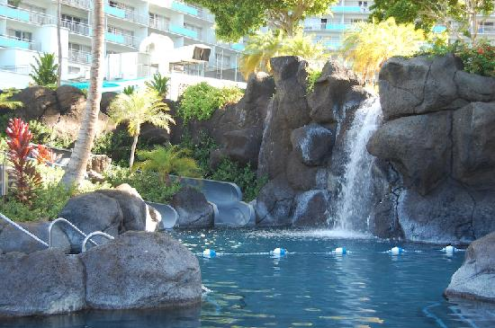 Hilton Hawaiian Village Waikiki Beach Resort Paradise Pool With Waterslides