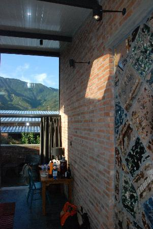 Brickyard Retreat at Mutianyu Great Wall : great wall from your room