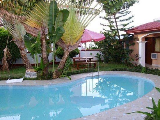 Masbate City, Filippinerna: Pool area.