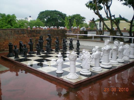 The Ffort Raichak: The real Chess board rather battle field...