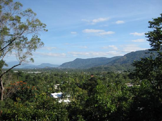Kookas Bed & Breakfast: Toller Blick von der Terrasse