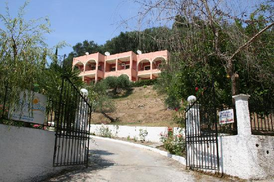 Front Entrance, Aphrodite Apartments