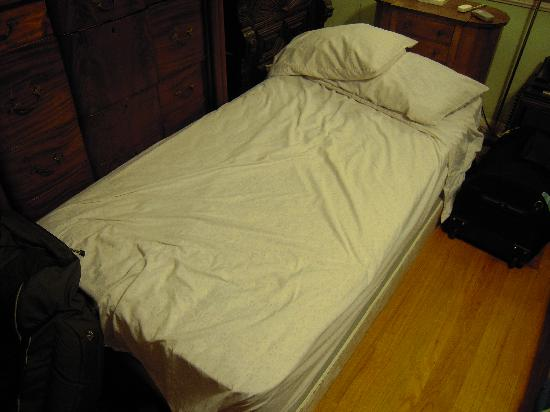 The Secret Garden Bed and Breakfast: the extra bedding