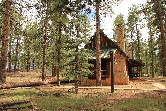 Innenaufnahme cabin picture of the lodge at bryce canyon for Bryce canyon cabin rentals