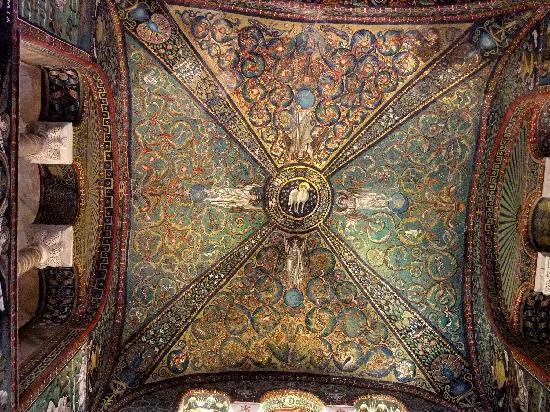 Basilica San Vitale: plafond