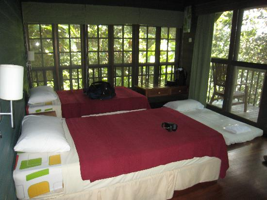 Permai Rainforest Resort: Our lovely Tree House!