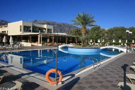 Hydramis Palace Beach Resort: La piscine et le bar