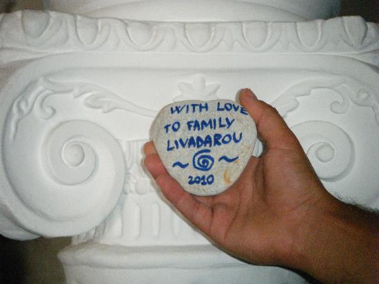 Pension Livadaros: un piccolo pensiero per la famiglia Livadarou