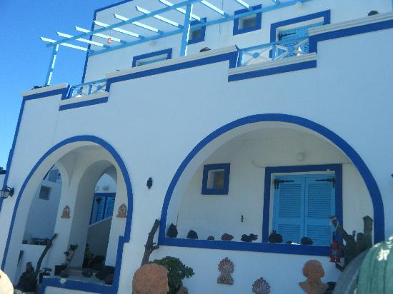 Pension Livadaros: foto di una facciata