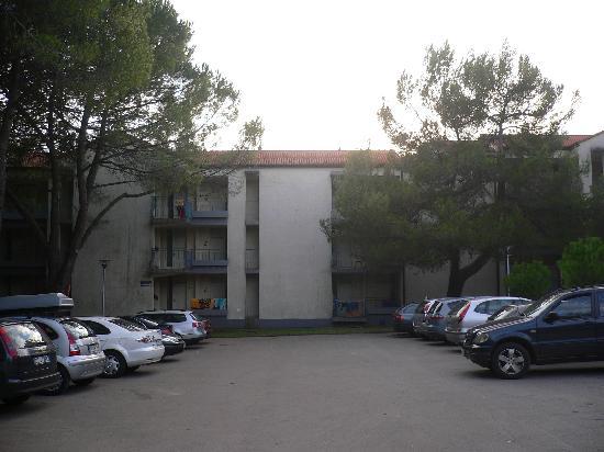 Sol Stella Apartments: die Blöcke, in denen die Ferienwohnungen untergebracht sind