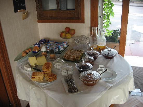 Beaune Hotel: petit déjeuner