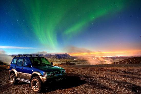 Reykjavik, أيسلندا: Northern Lights