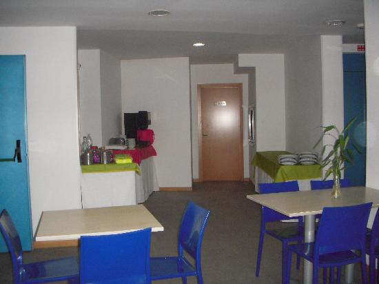 Hotel Varadoiro: sala del desayuno