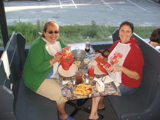 Île de Bailey, ME : Mmmm....lobstah!