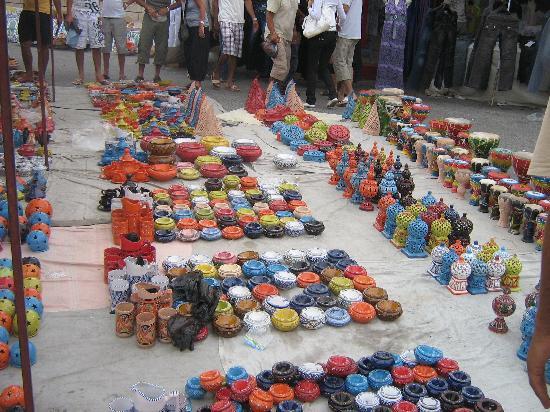 El Mouradi Cap Mahdia: Marché de Mahdia chaque vendredi