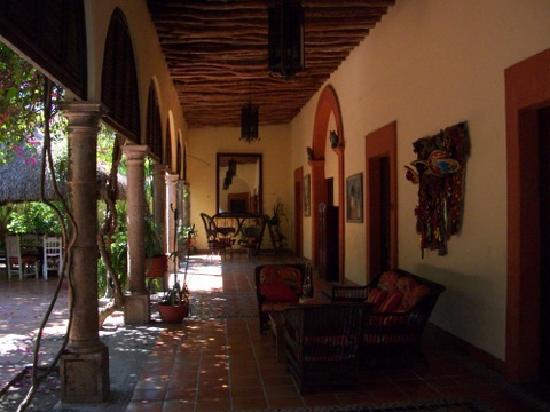El Fuerte, México: Beautiful section of hotel