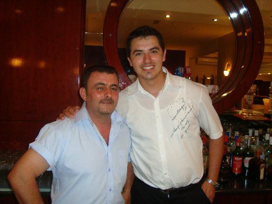 Rodos Star Hotel: julian and nick!!!