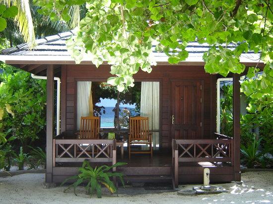 Royal Island Resort & Spa : Questa è la nostra casa sulla spiaggia