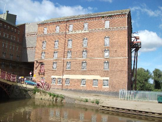 Tewkesbury, UK: old flour mill