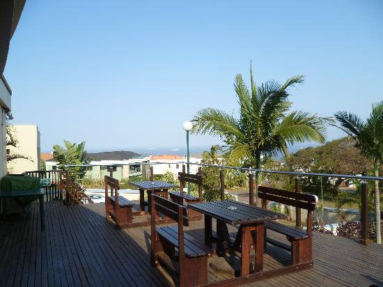 The Sandringham Bed & Breakfast: Looking to the Indian Ocean