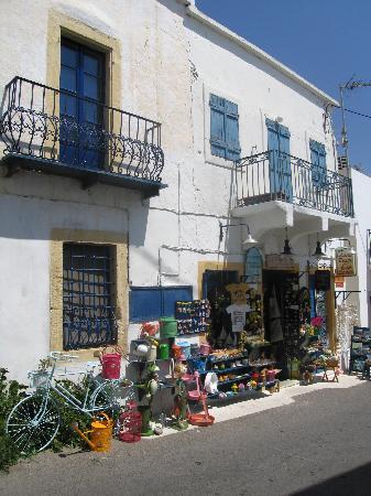 Kythira, Grecia: Shop in Chora