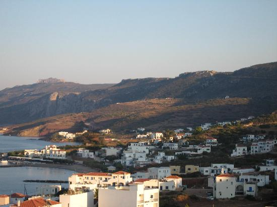 Kythira, Grækenland: Room view of Agia Pelagia