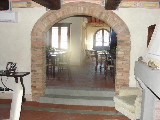 Il Podere di Toscana: Breakfast dining area