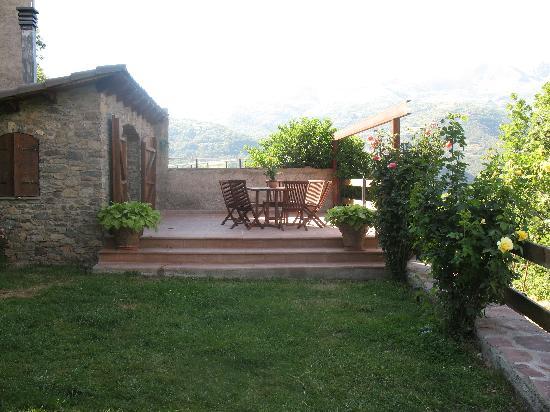 Casa Macianet: Jardín