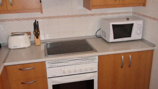 Madame Vacances Residence El Pinar de San Gines: la cuisine