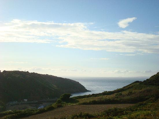 Τζέρσεϋ, UK: Greve de Lecq with views to Sark and Guernsey