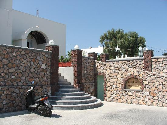 Babis Hotel : Hotel Babis Main Entrance