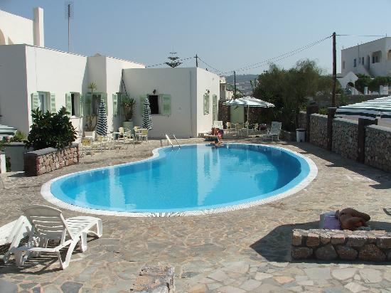 Hotel Babis Pool Terrace Picture Of Babis Hotel Karteradhos Tripadvisor